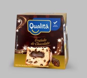 Panettone Trufado de chocolate