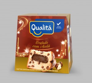Panettone Trufado de chocolate sabor Avelã